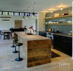 this is extremely close to what I want for the kitchen/dining area (bates + masi architects)