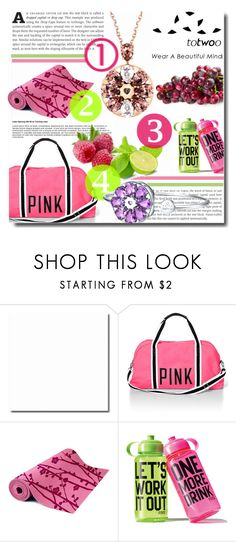 """""""Totwoo-Wear a beautiful mind"""" by totwoo ❤ liked on Polyvore featuring Victoria's Secret PINK, WearableTech, totwoo and smartjewelry"""