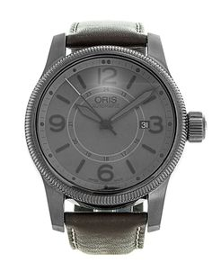 A confess to having a soft spot for Oris — my first watch, aged 7-years old, was made by the Swiss manufacturer. It was quite up to the standards of this, the Oris Big Crown Date (#733 7629 42 63), with its 44mm steel case, coated in grey PVD, and a grey, quarter Arabic dial, with secondary 24-hour inner ring. If anything, I feel the date window could be a bit bigger and less apologetic!