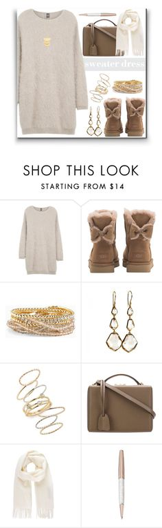 """Bows"" by alynncameron ❤ liked on Polyvore featuring Eleventy, UGG, Torrid, Ippolita, BP., Mark Cross, Vivienne Westwood, Swarovski, Gorjana and bows"
