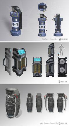 Brink-2 Grenades & Explosive Concept-Art.