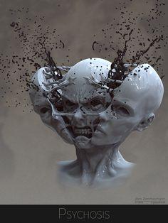 Psychosis by Nero-tbs.deviantart.com on @DeviantArt