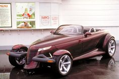 Ten Facts About the Plymouth Prowler - 10. The prototype version of the Plymouth Prowler made its rounds at auto shows back in 1993. The car was a huge hit, with crowds gathering around it at every show. Over 100,000 customers ordered the car before it ever went on sale, making it an instantaneous hit. The first production run was made up of 5,000 units, which was to ensure owners did not see too many other Prowlers on the road.