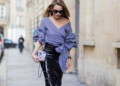 Streetstyle Eyewear Trends Spotted at New York Fashion Week Street Style Trends, New York Fashion Week Street Style, Nyfw Street Style, Spring Street Style, Street Fashion, Happy Hour Outfit, Weekend Outfit, Latex Rock, New Yorker Mode