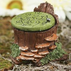 Miniature Whimsical Tree Fairy Hatch