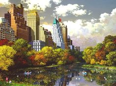 Fall in Central Park (Alexander Chen)