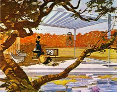 1963 Motorola - Charles Schridde Illustration