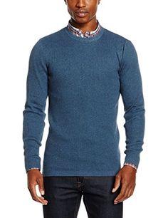 New Look Men's Skinny Rib Jumpers, Blue (Mid Blue), X-Sma... https://www.amazon.co.uk/dp/B01LYVROQY/ref=cm_sw_r_pi_dp_x_Dhq1ybTK91VF5