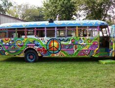 long hippie bus