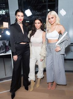 Kim, Kendall, & Kylie at a Samsung event in NYC - September 7, 2016