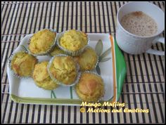 Motions and Emotions: Mango Muffin
