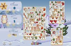 Karácsonyi Mahjong flash játék