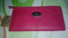FOSSIL MARLOW ZIP AROUND CLUTCH PURSE BRAND NEW With Tags And Authentication Card #streetstyle  #ebaysg  #Fossil