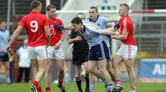2012 Allianz Football League - action from Cork and Dublin