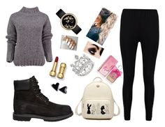 """Untitled #32"" by rafia-19 on Polyvore featuring Timberland, Juicy Couture, Lowie and Boohoo"
