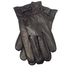 Back To Search Resultsapparel Accessories Mens Genuine Leather Gloves Real Sheepskin Black Touch Screen Gloves Fashion Luxury Brand Winter Warm Mittens Mens Luvas Cooperative Hot!