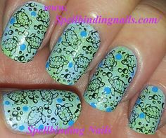 Spellbinding Nails: Lilic's Image Plate A02 + ' Turtles! '