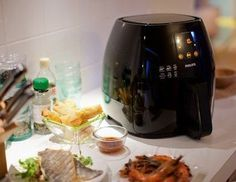 Shop Philips Avance Collection Digital Air Fryer XL Ink Black at Best Buy. Find low everyday prices and buy online for delivery or in-store pick-up. Philips Airfryer Xl, Air Fryer Deals, Philips Air Fryer, Air Fryer Review, Best Air Fryers, Hand Blender, Tasty, Yummy Food, Multicooker