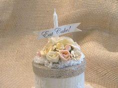 Paper Mache Birthday Cake