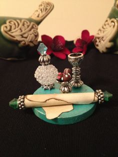 Truffle and Goblet Tray by Whimsybydesign1 on Etsy, $15.50