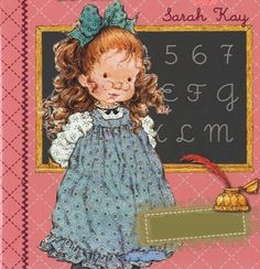 Sarah Kay Sarah Key, Vintage Cards, Vintage Postcards, Vintage Images, Mary May, Illustrations Vintage, Sweet Pic, Holly Hobbie, Creative Pictures