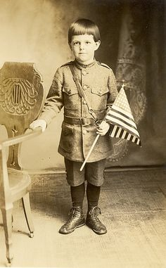 WWI All-American Boy c. 1918