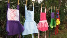 Princess Inspired Aprons (TODDLER sized) -For your favorite little princess!