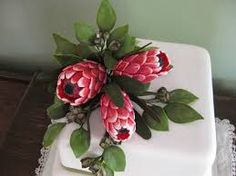 Image result for fondant protea tutorial