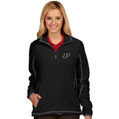 Purdue Boilermakers Antigua Women's Ice Full-Zip Jacket - Black