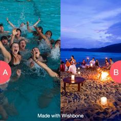 Pool parties or beach parties? Click here to vote @ http://getwishboneapp.com/share/2494281