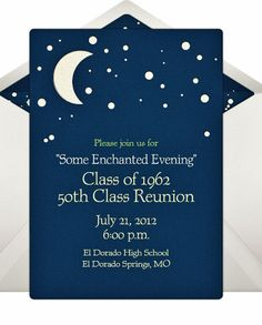 50th Class Reunion Invitation Reunion Class by LindasCustomCards, $50.00