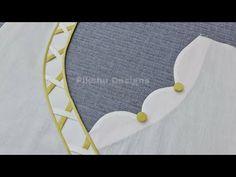 Chudidhar Neck Designs, Salwar Neck Designs, Kids Blouse Designs, Neck Designs For Suits, Kurta Neck Design, Neckline Designs, Sleeves Designs For Dresses, Dress Neck Designs, Sleeve Designs