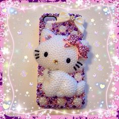 Charmmy kitty custom case from my shop on Storenvy-Cherbearphonecases- check out my Instagram gallery @cchobbo