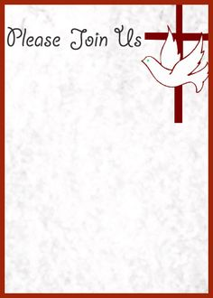 1000 images about templetes for church on pinterest for Christian letterhead templates free