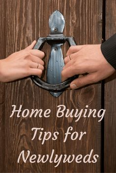 Home Buying Tips for Newlyweds Buying a House #homeowner