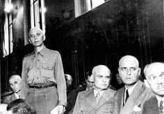 Bucharest, Romania, A war crimes trial. The accused are Romanian military officials responsible for the murder of about 12,000 Jews in Jassy.