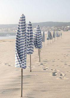 Blue  White Beach Life