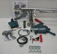 5-7hp Longtail Mud Motor Kit