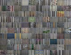Hong Kong: This giant patchwork is made up of individual shots of soaring tower blocks joined to form a giant tableau