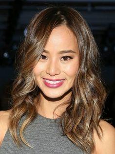 Jamie Chung's balayage hair color formula 2016