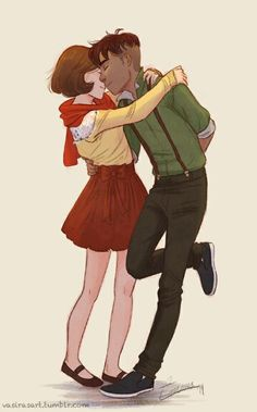 Kainora art reblogged by Bryan on tumblr. I LOVE THIS!!!! I ship this so hard it's not even funny