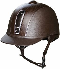 Croc & Crystal Helmet from Harry's Horse - LOVE LOVE LOVE - stylish safety