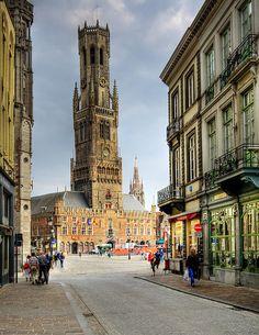 Belfry Tower of Bruges, Belgiumby © Wolfgang Staudt