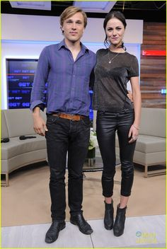 William Moseley and MerrittPatterson...Royals on E!