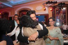 Bollywood actors Shahrukh Khan, Kajol Devgan during the Hindustan Times Mumbais 'Most Stylish Awards 2014' at ITC Grand Central, Parel on (March 8, 2014) in Mumbai, India