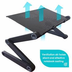 Adjustable Portable Laptop Table Stand
