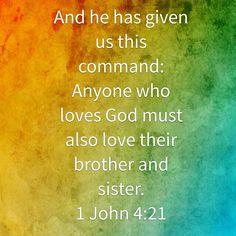 Anyone who loves God...