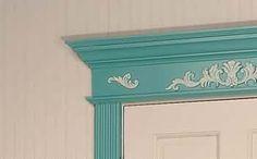 Victorian Door #Trim Fiberboard Door Casing 32'' x 8''  # 19324 Shop --> http://www.rensup.com/Door-Trim/Door-Trim-Fiberboard-Door-Casing-Victorian-Fiberboard-32-feet-x-8/pd/19324.htm