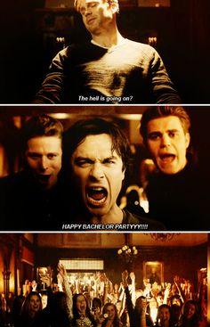 Season 6 Episode 20: Alaric, Damon, Stefan, Matt