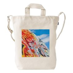 39f418d3bd458e planet graffiti duck bag - red gifts color style cyo diy personalize unique  Blue Bags,